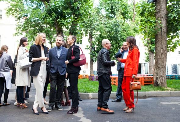 24 июня прошел первый в России fashion-показ компании Swarovski - Фото №20