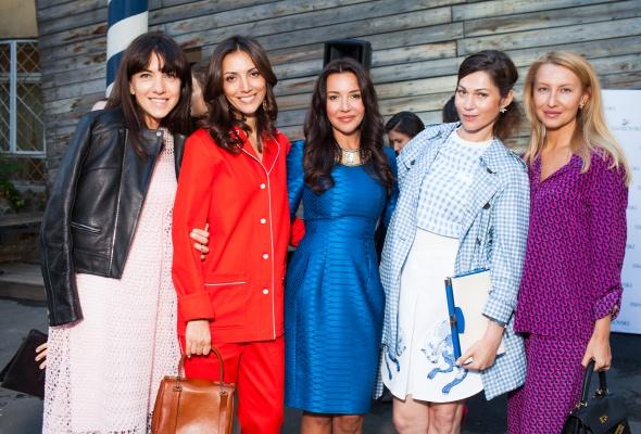 24 июня прошел первый в России fashion-показ компании Swarovski - Фото №19