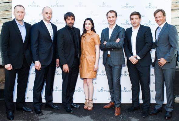 24 июня прошел первый в России fashion-показ компании Swarovski - Фото №14