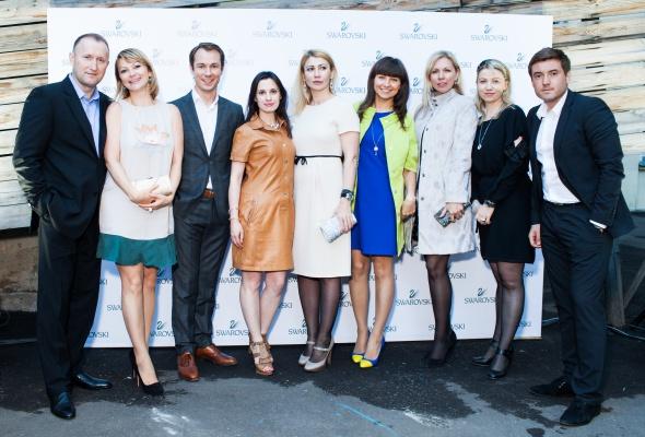24 июня прошел первый в России fashion-показ компании Swarovski - Фото №13