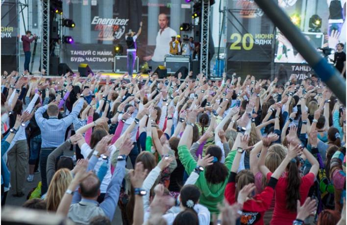 20 июня на территории ВДНХ прошел танцевальный праздник «Energizer Dance Day»