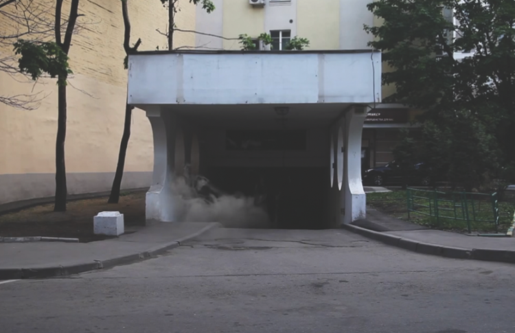 Николай Онищенко. «Туман. Остановка»