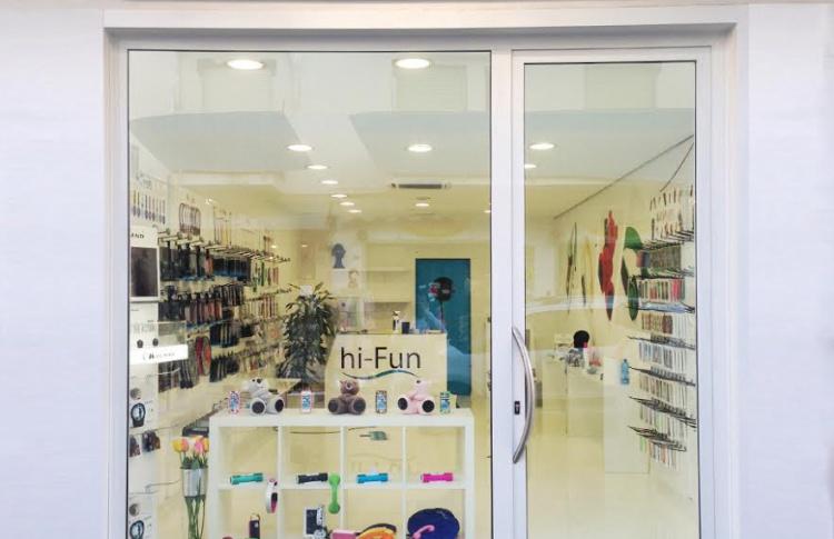 В Петербурге открылся магазин итальянской марки hi-Fun
