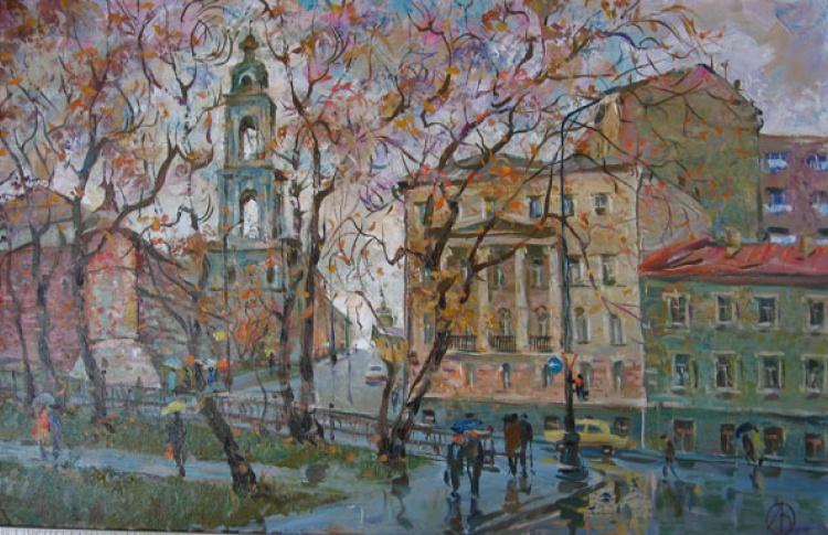 Прогулка с Александром Можаевым «Три бульвара»