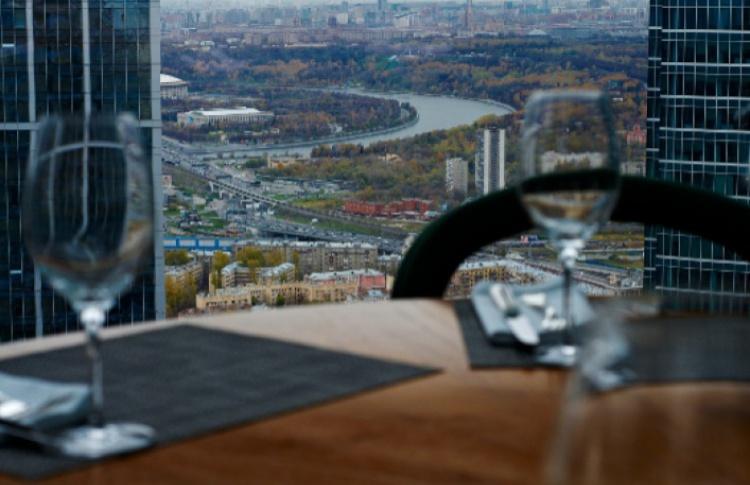 Смотровая площадка «Москва-Сити» и ресторан Sixty
