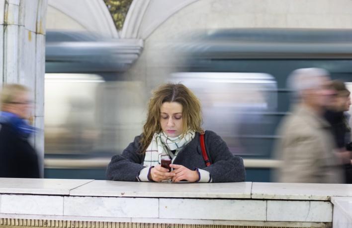 Заработал wi-fi на «зеленой» ветке метро