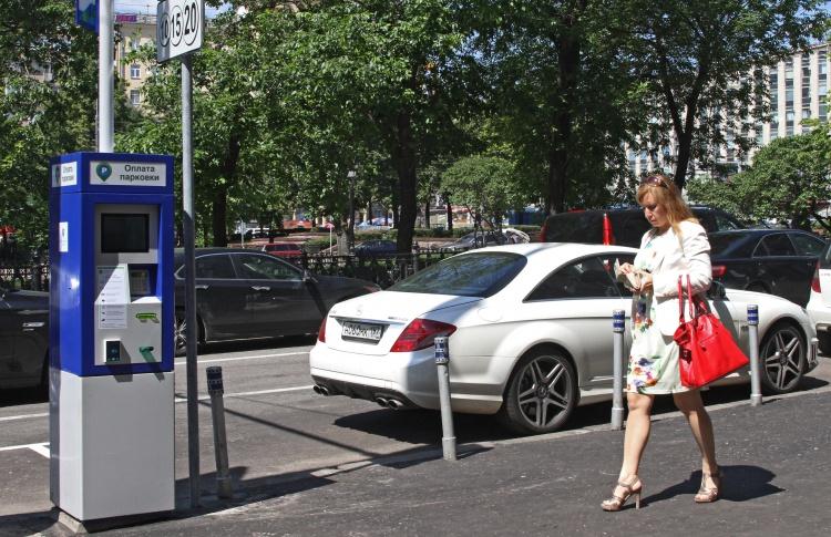 С 1 августа платная парковка распространилась еще на четыре района