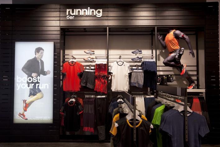 Открылся магазин Adidas HomeCourt