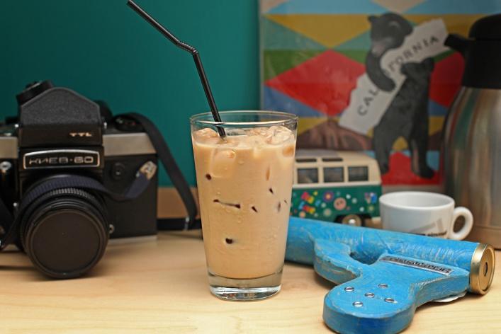 Летние напитки в кофейнях «Даблби»