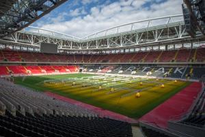 В городе построят 16 новых футбольных полей
