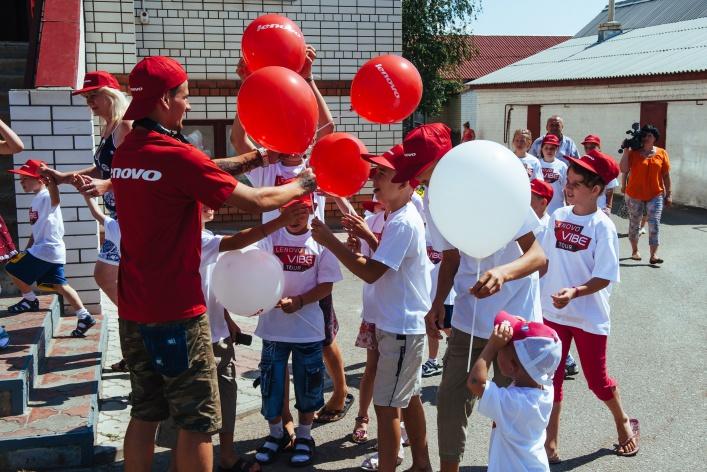 Lenovo и благотворительный фонд «Созидание» проведут совместную акцию в рамках LENOVO VIBE TOUR