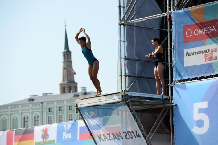 Lenovo выступит партнером Чемпионата мира по водным видам спорта