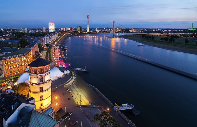Дюссельдорф: все золото Рейна