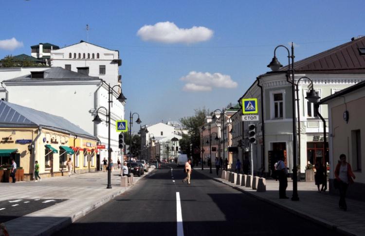 В центре открываются сразу три новые пешеходные зоны