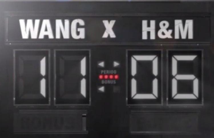 Коллаб Alexander Wang и H&M