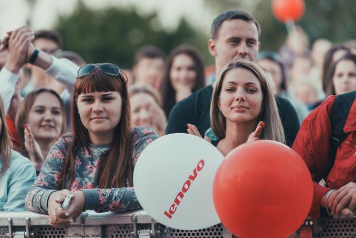23 августа в музее-заповеднике «Царицыно» прошел фестиваль LENOVO VIBE TOUR