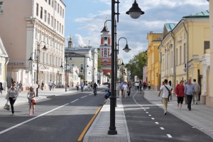 Городские улицы благоустроят по типу Маросейки и Пятницкой