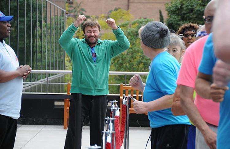 В Петербурге состоится первый вертикальный забег