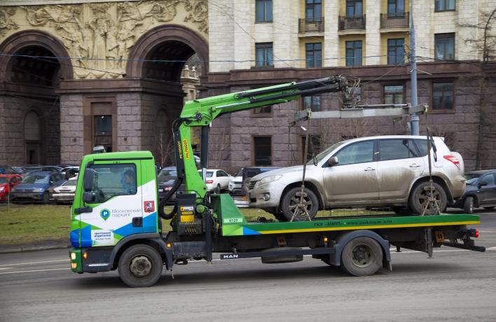 За неправильную парковку будут судить