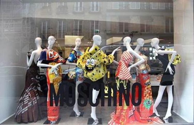 Выставка подиумных луков Moschino