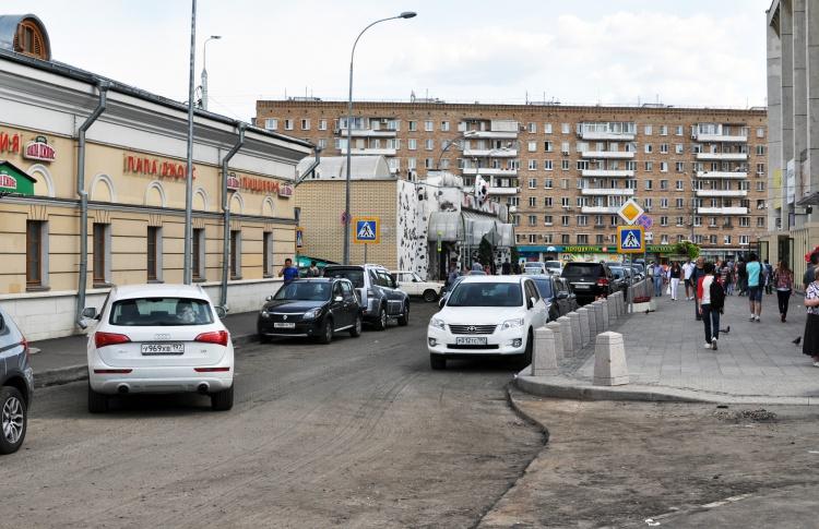 Открылась самая длинная в городе пешеходная зона