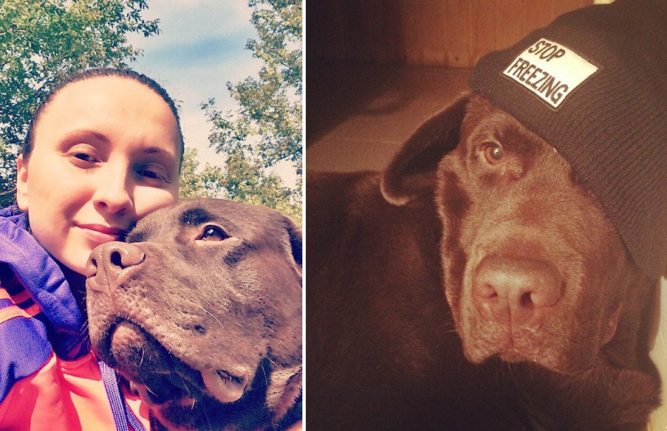 Катя Троицкая: «Пес — лучший компаньон в пробежках»
