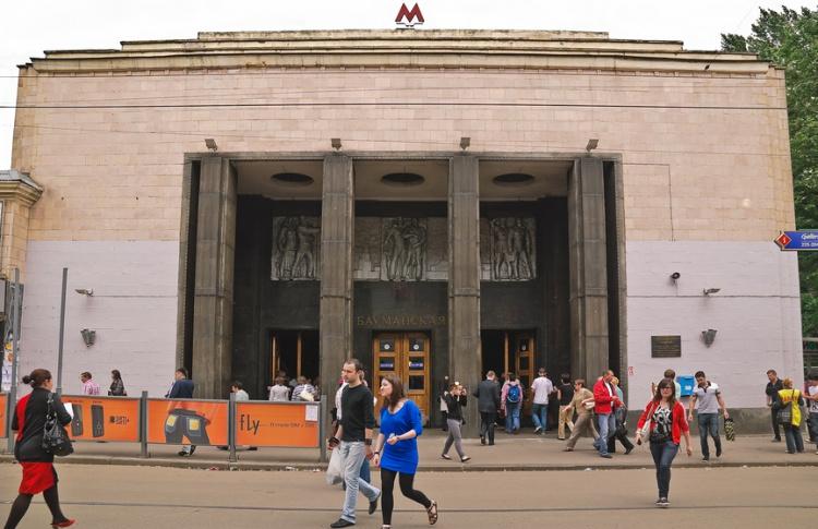Станция «Бауманская» закрывается на ремонт