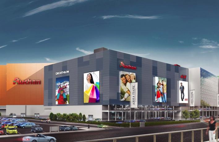 На Ходынке достраивают крупнейший в Европе торговый центр
