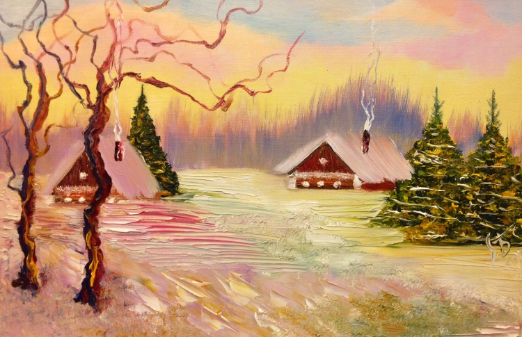 Валерия Белова. Живописная радуга