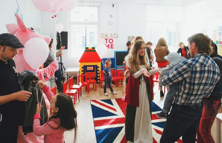 Новый британский детский сад Mary Jane