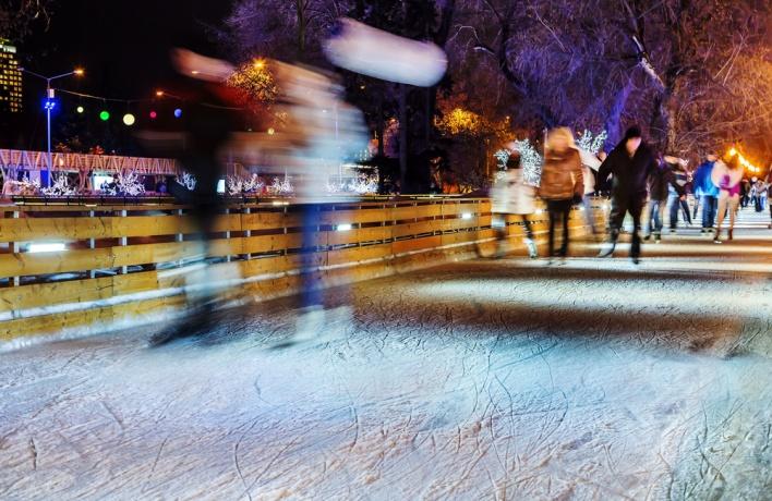 Каток в Парке Горького оформят в стиле поп-арт