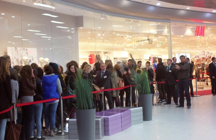 В ТРК «Москворечье» открылся магазин H&M