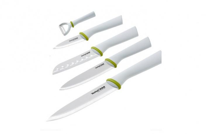 Новинка от Tefal — керамические ножи Zen