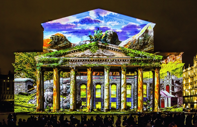 Лучшие инсталляции «Круга света» повторят в новогодние праздники