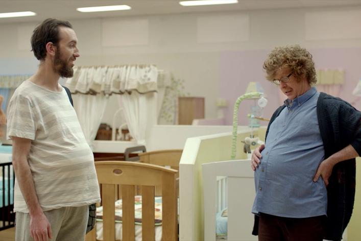«Я узнал, как ведут себя беременные мужчины»