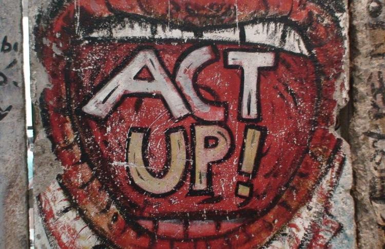 Act up! или одна история про борьбу со СПИДом