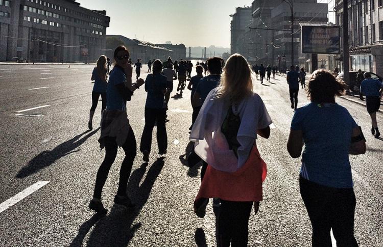Катя Троицкая: «Всем фанатам бега посвящается...»