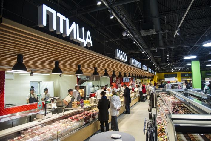 X5 Retail Group открыла первый «Перекресток» в новой концепции