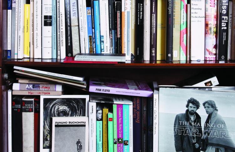 Читальный зал: книжные шкафы депутата, певицы, журналиста и еще пятерых горожан Фото №449220