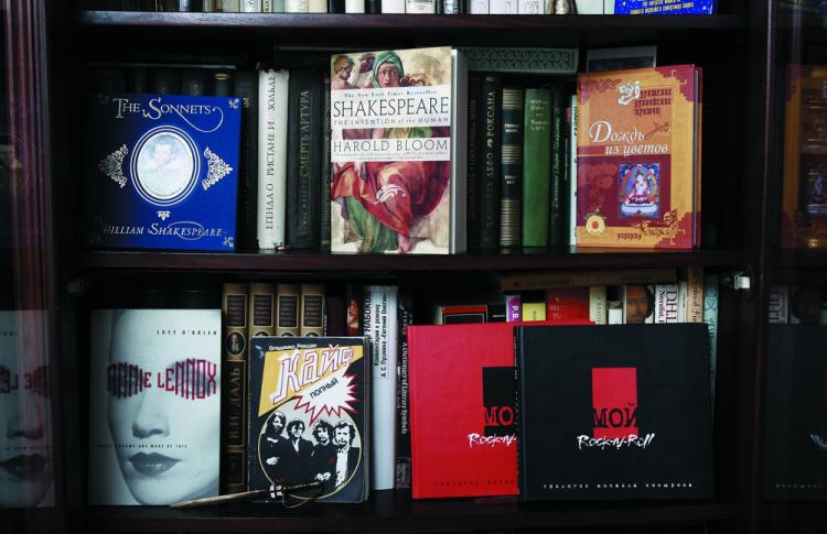 Читальный зал: книжные шкафы депутата, певицы, журналиста и еще пятерых горожан Фото №449225