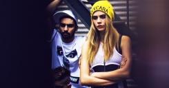 Коллаборация DKNY x Cara Delevingne