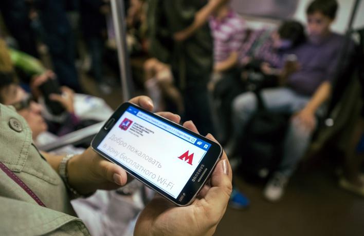 На Таганско-Краснопресненской ветке тоже появился wi-fi