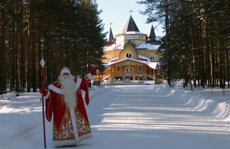 Зимний экспресс к Снегурочке и Деду Морозу