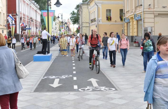2013-2014: пешеходные зоны