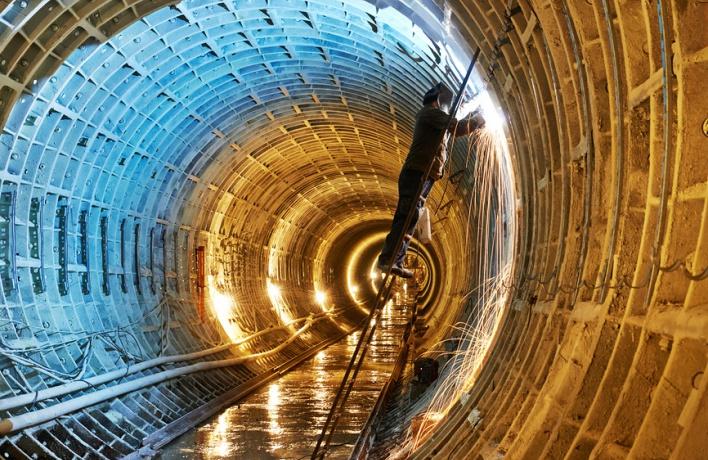 В московском метро появится первая двухъярусная станция