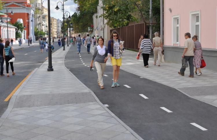 2013: пешеходные зоны
