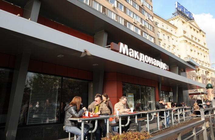 «Макдоналдс» на «Пушкинской» откроется в конце ноября