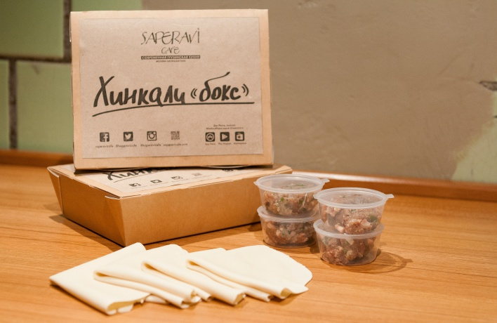 Вкусный конструктор в Saperavi Cafe