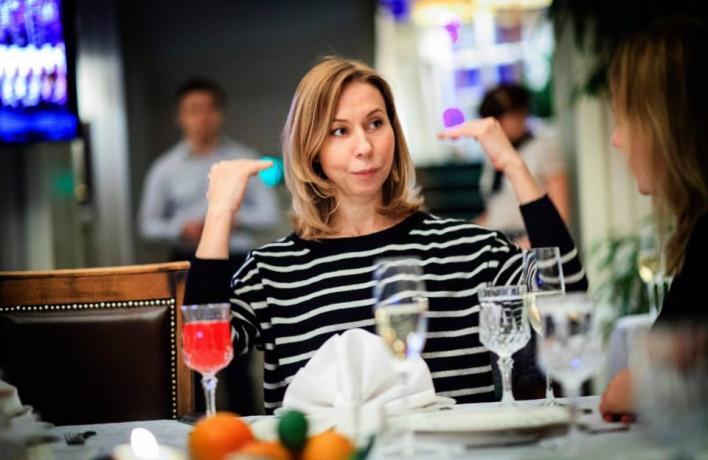 Елена Усанова продолжает рассказыватьо любимых ресторанах наших звезд