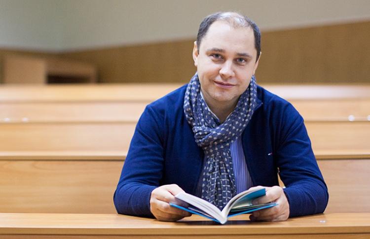 Встреча с с генеральным директором петербургской сети «Буквоед» Денисом Алексеевичем Котовым